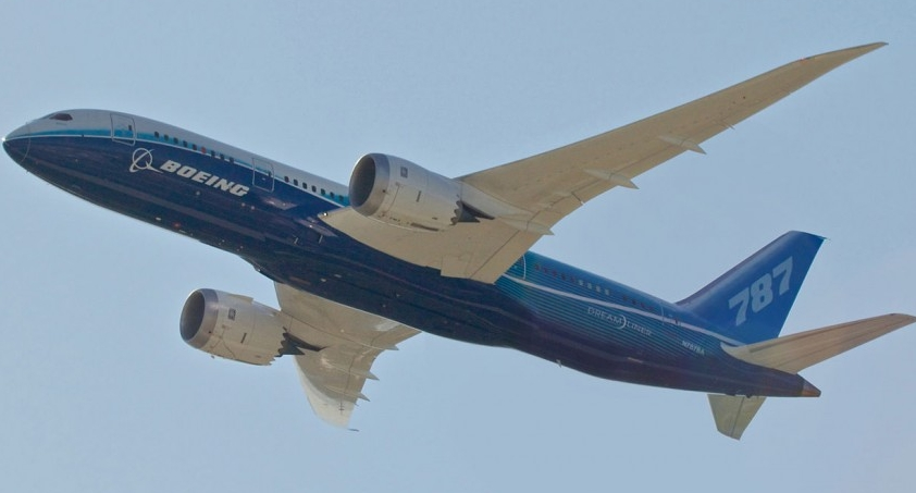 Boeing delivers the 787th 787 Dreamliner to AerCap