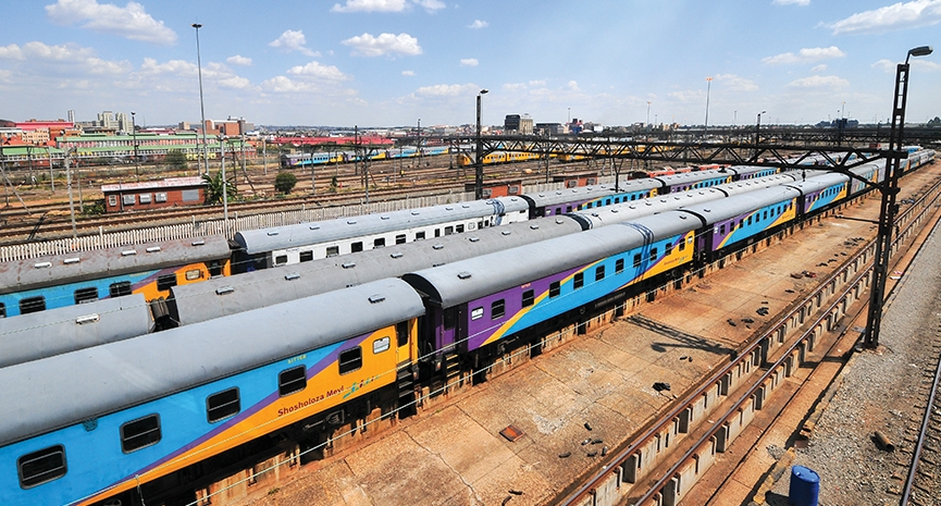 FROM MAGAZINE: Africa's Rail Infrastructure shaping a