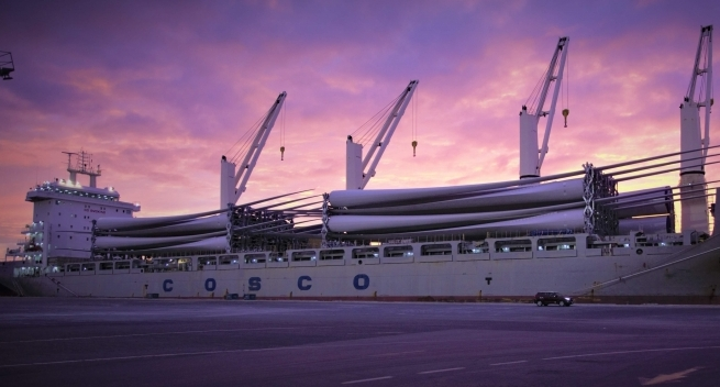 Bollore Logistics Australia transports components of Goldwind Moorabool wind farm