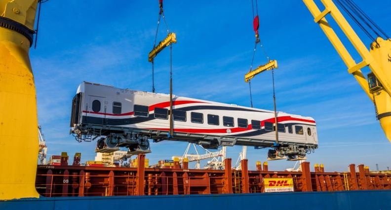 DHL Industrial Projects to move 676 passenger coaches to Egypt | Shipping